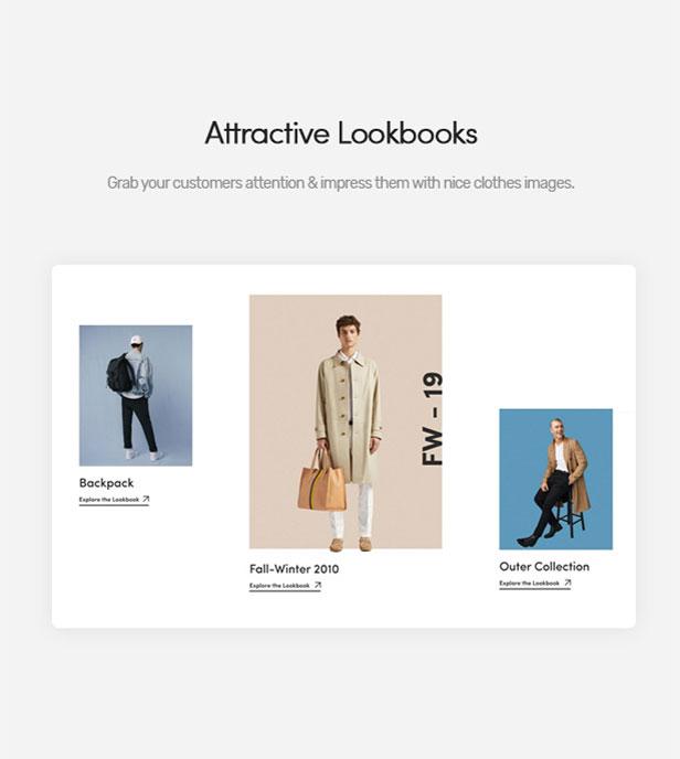 Attractive Lookbooks