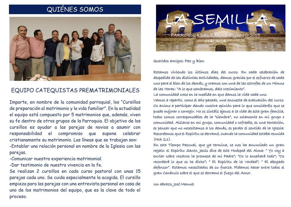 La Semilla (junio 2019)