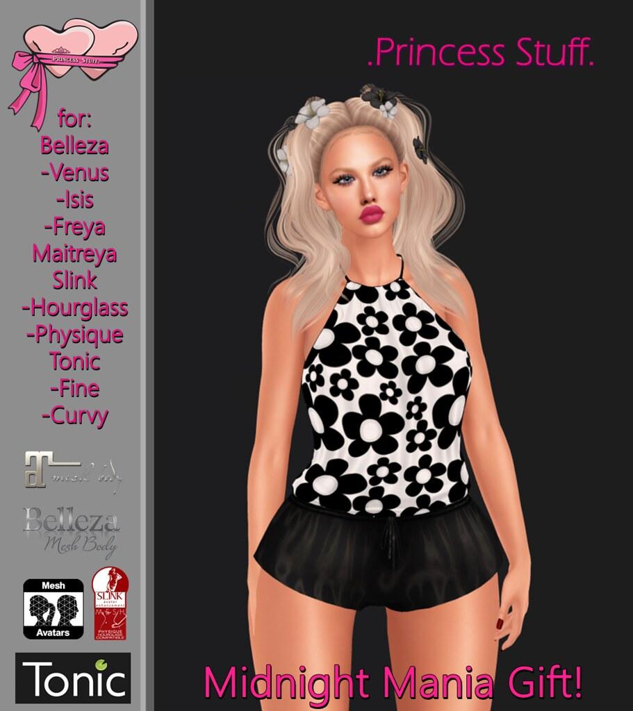 .Princess Stuff.  Current Midnight Mania Gift <3