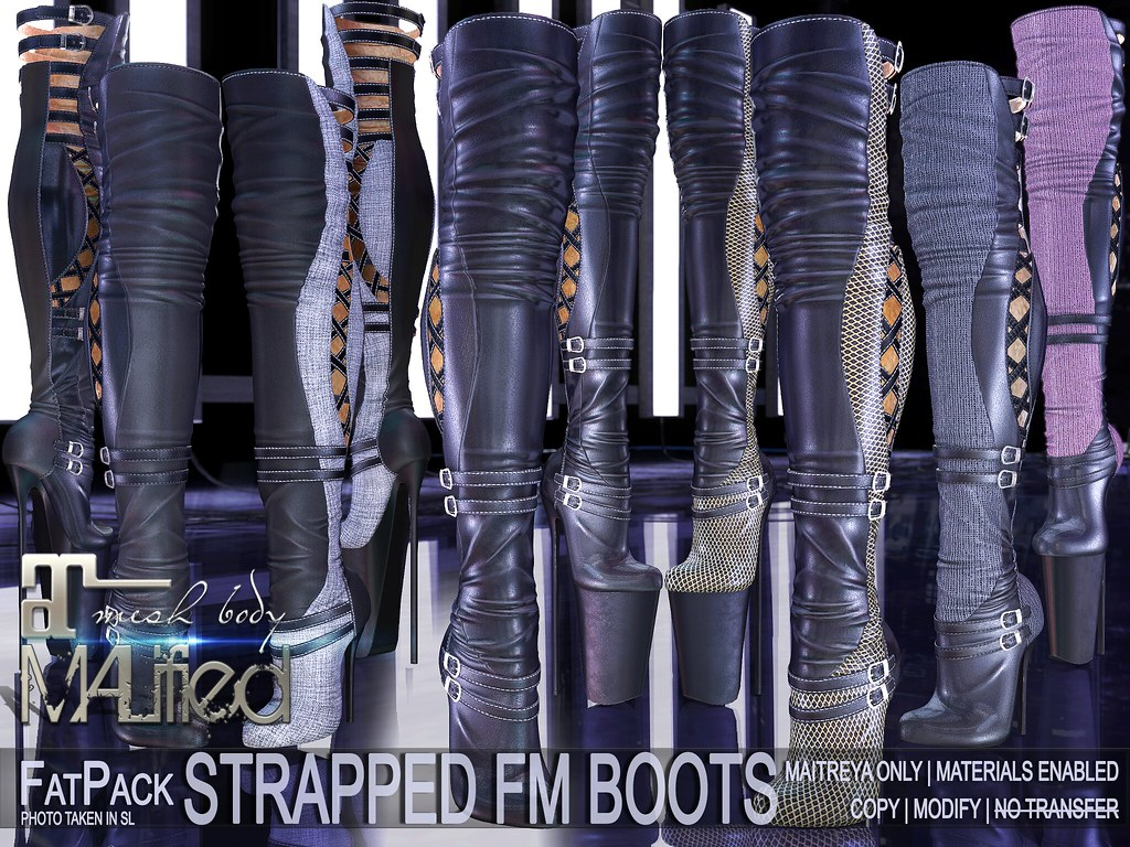 MALified – Strapped FM Boots – FatPack