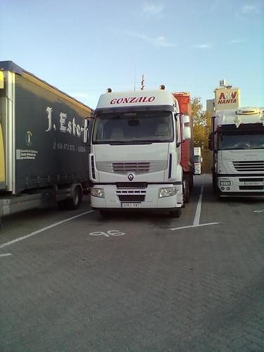 Gonzalo tractora Renault