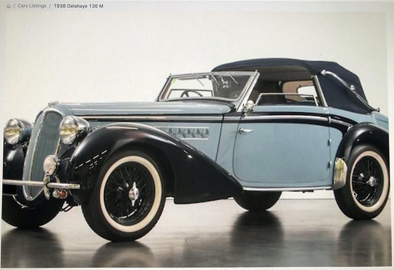 DELAHAYE Type 135 modèle 1938 ... Du scratch, du scratch, encore du scratch et toujours du scratch ! Réf 80707 49769226987_313118182a_c