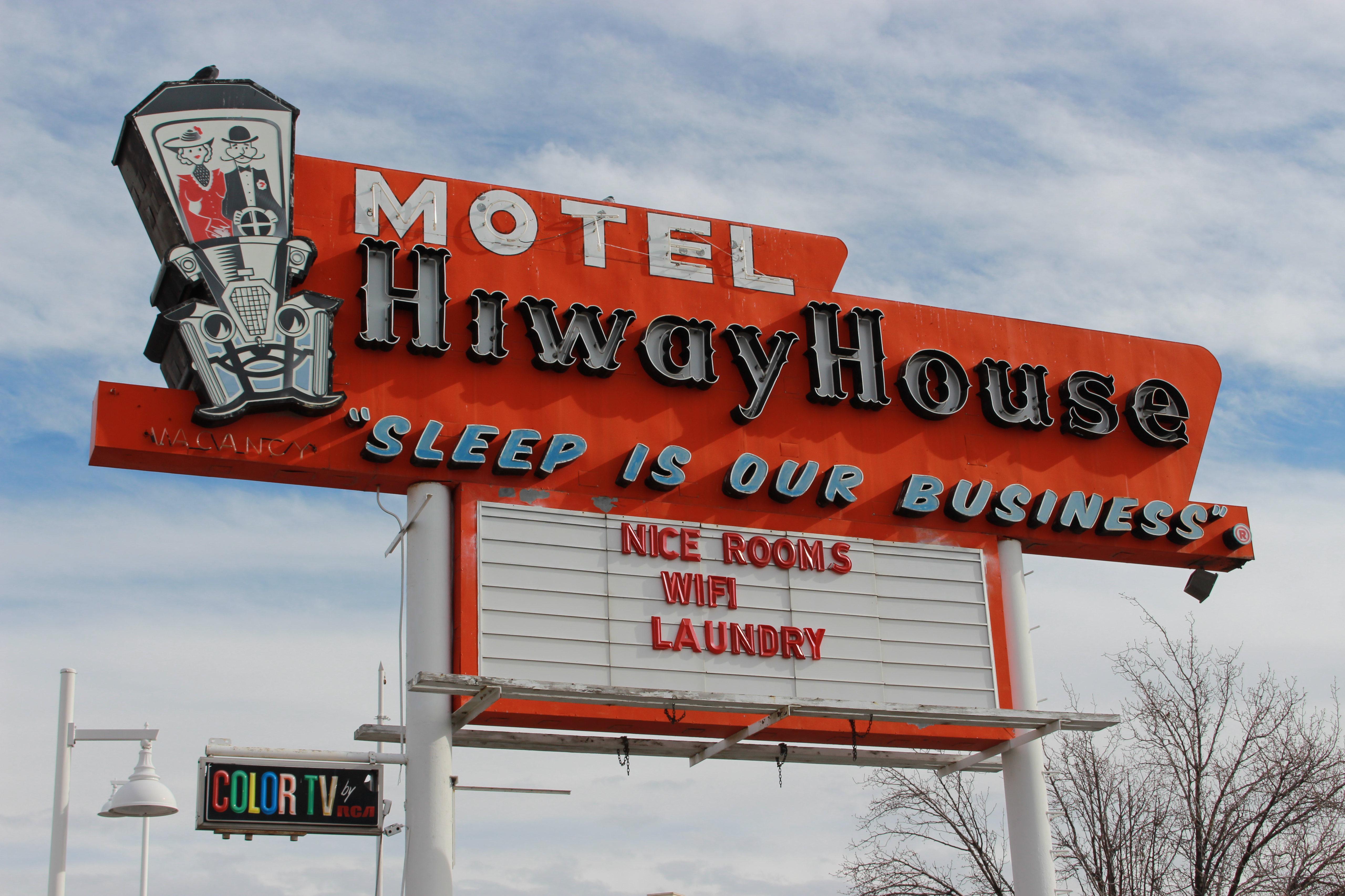 Hiway House Motel - 3200 Central Avenue SE, Albuquerque, New Mexico U.S.A. - December 19, 2019