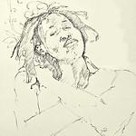 Niambi drawn by Bruce