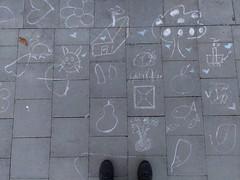 #art #streetart #chalk #chalkart #drawings