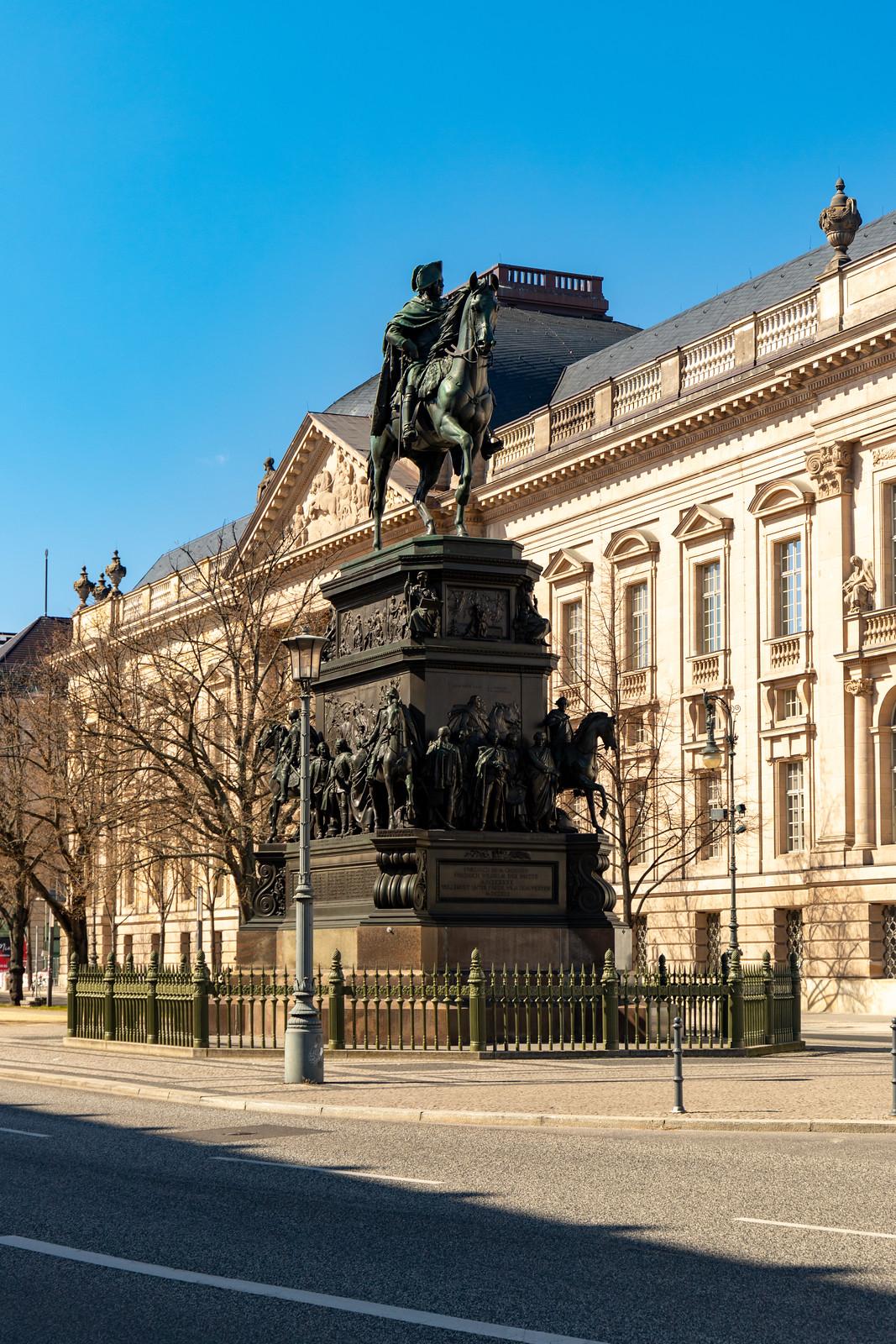 Das Reiterdenkmal Friedrichs II.