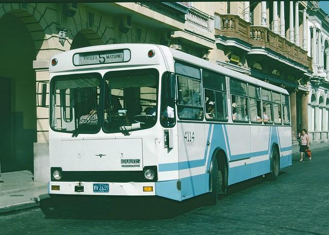 VV2639 Ikarus Yugoslavia Bus - Santa Clara, Cuba