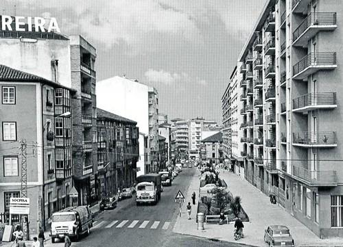 carrer Julian Ceballos Torrelavega 1968 El Diario Montanes