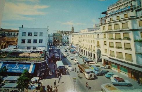 postal Jerez de la Frontera 1960