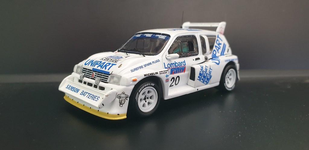 RAC Rally 1986 1/43 49769727811_a68f6e135f_b