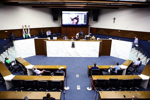 Reunião Especial para discutir ações adotadas pelo Município de Belo Horizonte para o funcionamento parcial do comércio, durante este período da pandemia do CORONAVIRUS