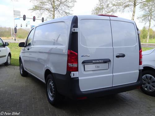 2020 Mercedes-Benz eVito Photo