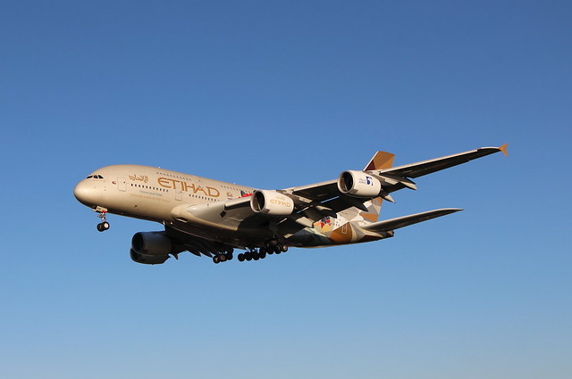 A6-APD Airbus A380-861 Etihad Airways