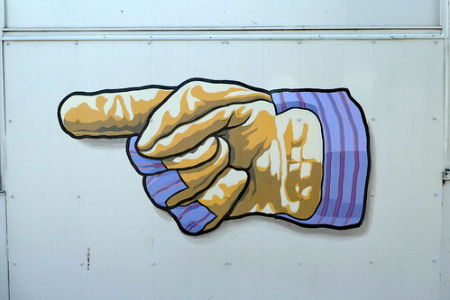 Gloved manicule, Seattle