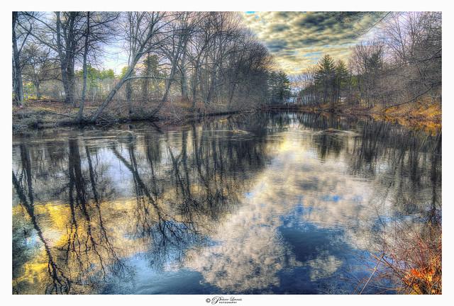 Souheagan River, Milford, NH USA