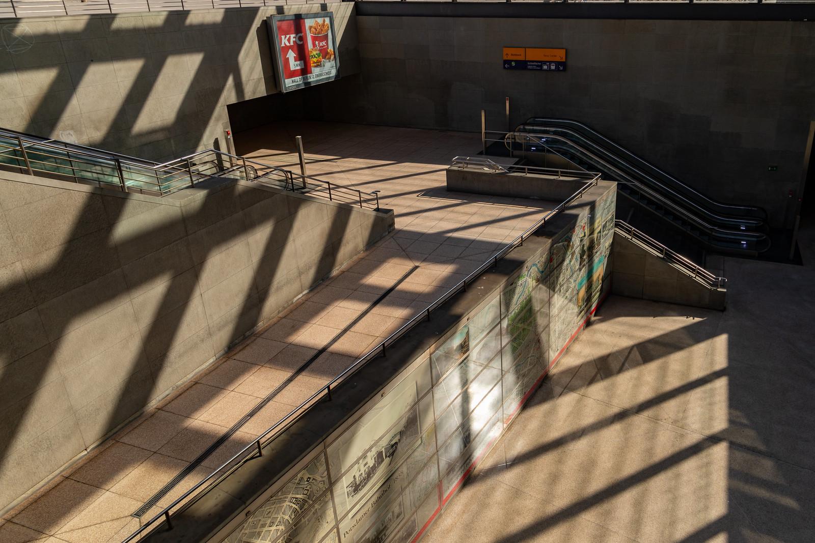 Der Bahnhof Potsdamer Platz