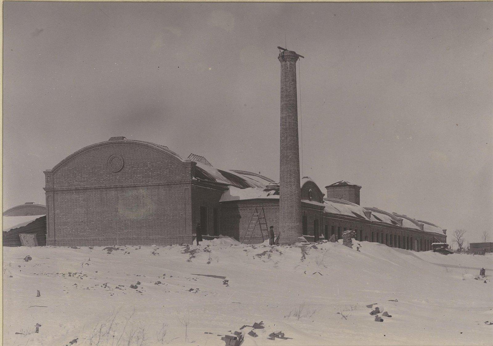 Здания Хабаровской окружной артиллерийской мастерской4