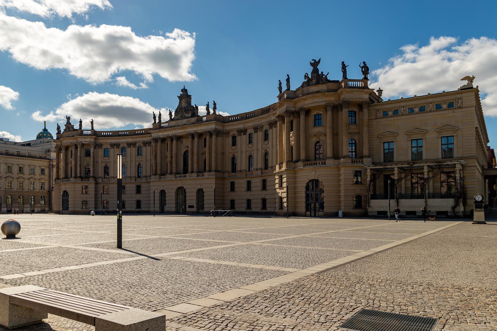 Die Alte Bibliothek am Bebelplatz