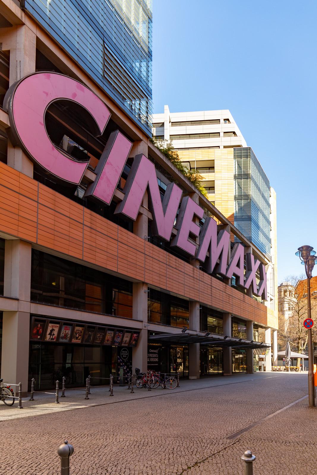 Das CinemaxX-Kino am Potsdamer Platz