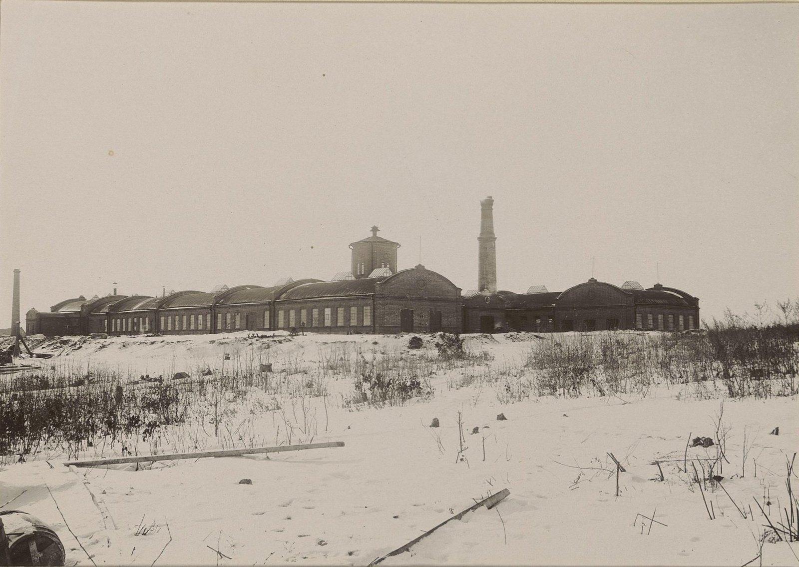 Здания Хабаровской окружной артиллерийской мастерской