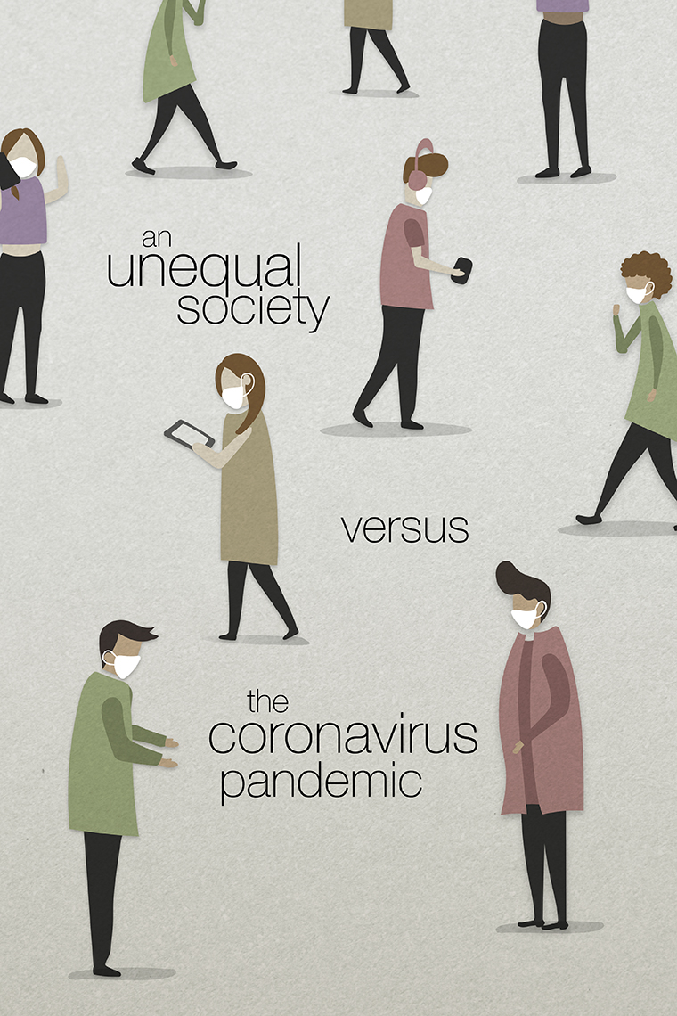 an unequal society vs coronavirus pandemic
