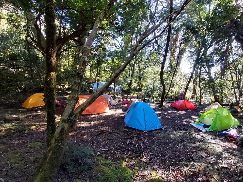 Camping at Xuebai campsite 雪白營地 in Smangus 司馬庫司