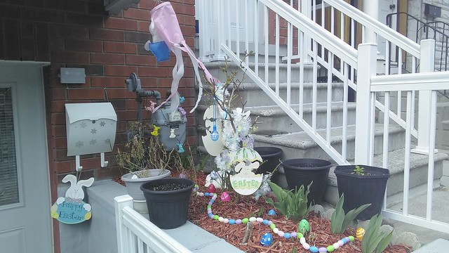 Easter display, Wyndham at Brock, Little Portugal (3)