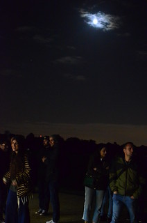 Late-evening astronomers