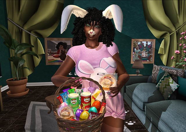 Momma Bunny Needs Her Snacks