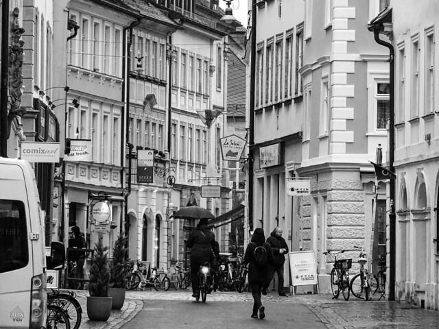 Bamberg in the rain
