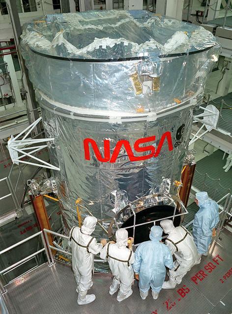 Hubble Space Telescope at Lockheed