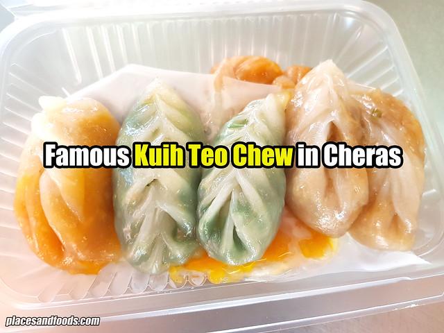 kuih teo chew cheras