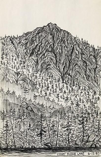 Stoney Ridge Lake | Desolation Wilderness | Lake Tahoe, CA