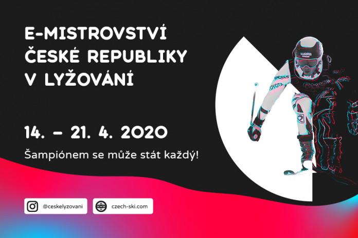 Začíná první e-Mistrovství ČR v alpském lyžování