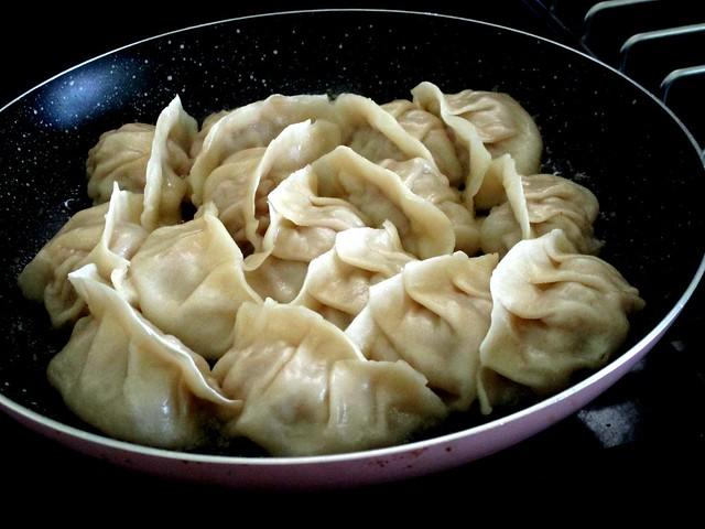 Dumplings, cooked