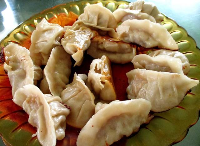 Uncle Q dumplings for lunch