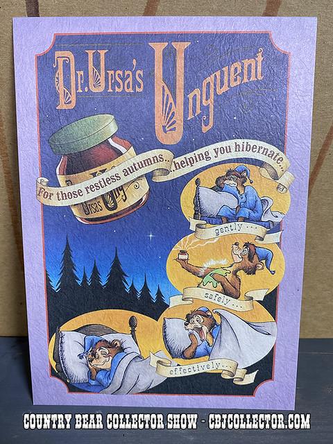Vintage Tokyo Disneyland Ernest Old-Time Ad Postcard - CBCS #250
