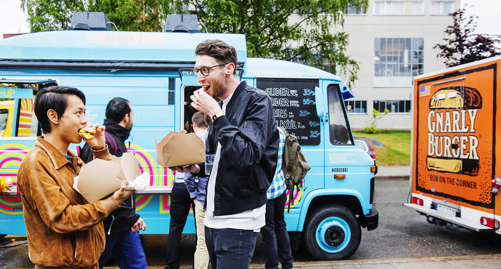 Food trucks Stockholm, restaurants in Stockholm (foto met dank aan Simon Paulin) | Mooistestedentrips.nl