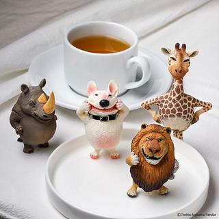 用大笑召喚正能量 朝隈俊男Animal Life 二頭身~Chubby Series『圓滾滾系列』 第二彈 ハイポ~ズ 再度來襲!!