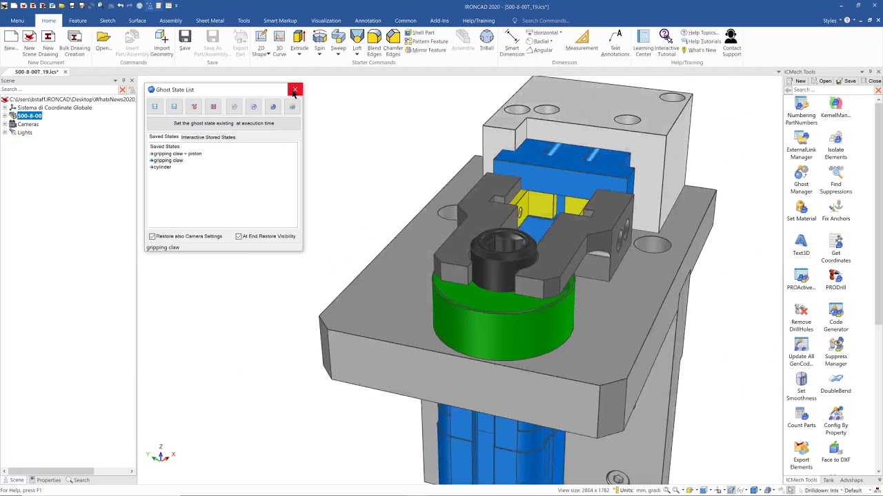 Working with IronCAD Design Collaboration Suite 2020 full
