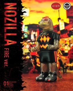 火焰NO吉拉參上!Goodzila 好吉拉 x Black Seed 第三彈「火焰NO吉拉」吊卡玩具強勢登場~僅在「1982小時候」獨家限時預購!