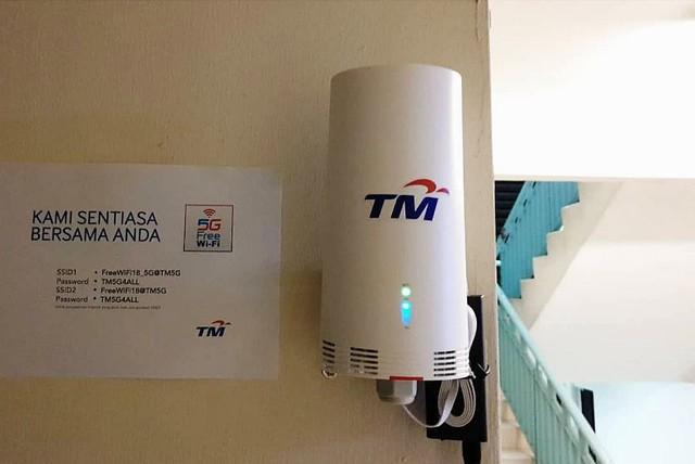 Canggih! WiFi Berkelajuan 5G Dipasang di Pusat Kuarantin COVID-19