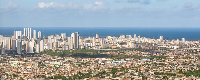 Landing in Recife