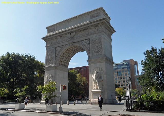 New York - Lower Manhattan, Washington Square Arch (1)