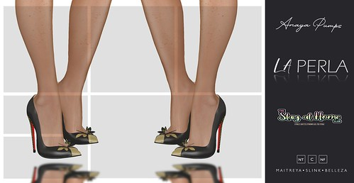 {LP} -Anaya Pumps - Gift The Stay at Home Club