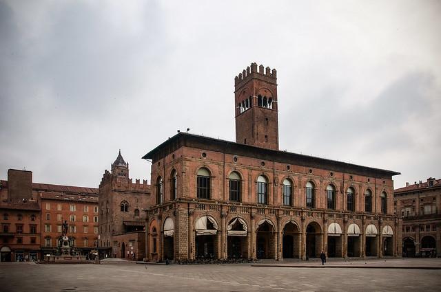 Palazzo del Podestà in Piazza Maggiore