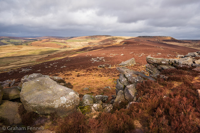 Higger Tor to Stanage Edge