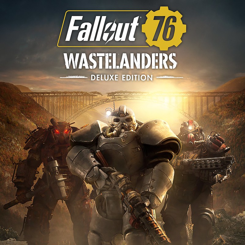 Thumbnail of Fallout 76: Wastelanders Deluxe Edition on PS4
