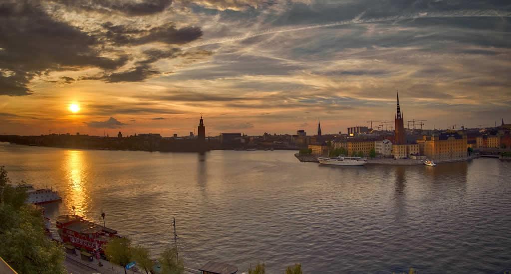 Bezienswaardigheden Stockholm: Monteliusvägen | Mooistestedentrips.nl
