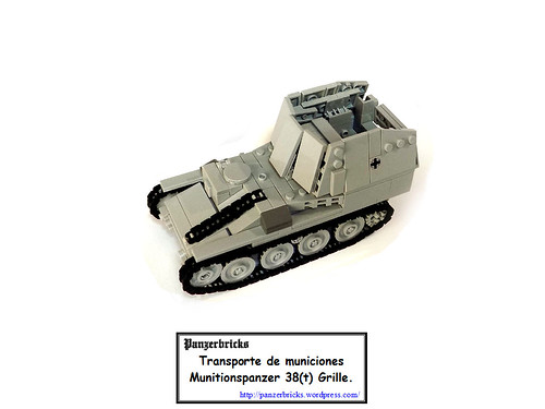 Munitionspanzer 38(t) Ausf K de Panzerbricks